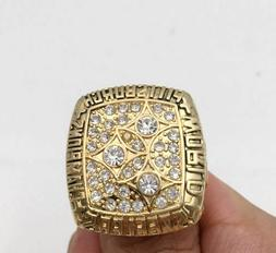 1978 PITTSBURGH STEELERS Super Bowl Championship Ring 18k GO