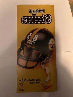 1985 PITTSBURGH STEELERS NFL MEDIA GUIDE - PITT
