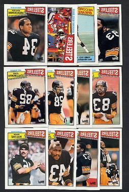 1987 Topps Pittsburgh Steelers TEAM SET