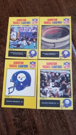 1988 MONTY GUM NFL STICKER CARD ENGLAND PITTSBURGH STEELERS