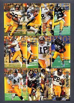 1995 Fleer Pittsburgh Steelers TEAM SET