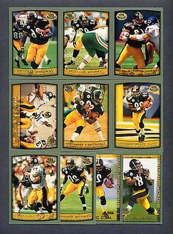 1999 Topps Collection Pittsburgh Steelers TEAM SET