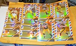 2018 panini prizm red white blue parallel