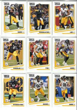 2018 Score Pittsburgh Steelers Master Team Set Base & Insert