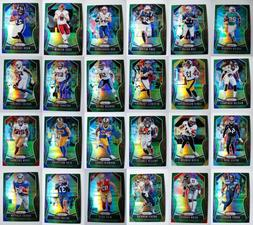 2019 Panini Prizm Green Parallel Football Cards Complete You