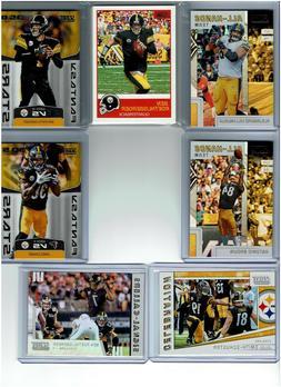 2019 Score Football Pittsburgh Steelers Team Set  Base Cards