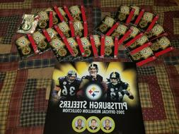 25pc Pittsburgh Steelers 2005 Medallion Collection Giant Eag