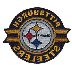 """🏈4"""" PITTSBURGH STEELERS Round Iron-on NFL Football Jersey"""