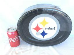 55 NFL Pittsburgh Steelers 12 X 10 Oval Disposable Paper Din