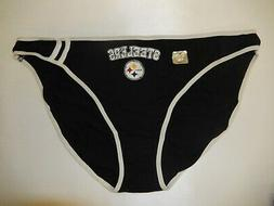 9528-6 WOMENS Ladies PITTSBURGH STEELERS Panties Underwear N