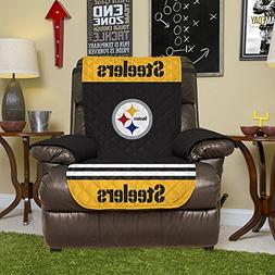 NFL Pittsburgh Steelers Recliner Reversible Furniture Protec