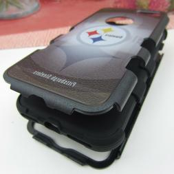 Pittsburgh Steelers Hybrid Hard Rugged Armor Case for iPhone