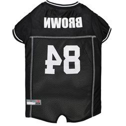 Antonio Brown Dog Jersey #84 Pittsburgh Steelers NFLPA Pet A