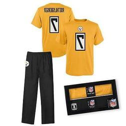 Ben Roethlisberger Pittsburgh Steelers Sleepwear Pajama 2 pc