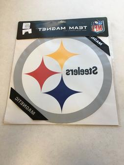 BRAND NEW PITTSBURGH STEELERS LARGE CAR MAGNET FREE SHIPPING