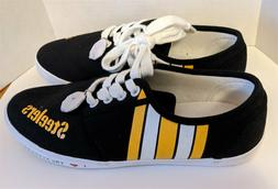 Brand New PITTSBURGH STEELERS Unisex Canvas Casual Shoes; US