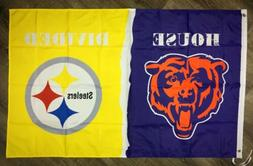 chicago bears vs pittsburgh steelers house divided