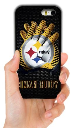 CUSTOM NAME PITTSBURGH STEELERS CASE FOR IPHONE XS MAX XR 4