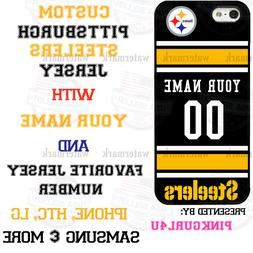 CUSTOM PITTSBURGH STEELERS NFL FOOTBALL PHONE CASE COVER FIT