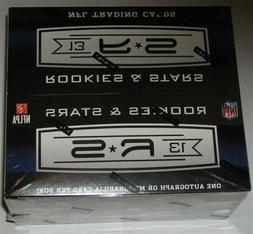 Factory Sealed 24 Pack Box 2013 Panini Rookies & Stars Footb