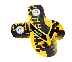 FOCO NFL Men's Pittsburgh Steelers Contour Fade Wordmark Tho
