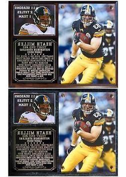 Heath Miller #83 Pittsburgh Steelers 2005-2015 Photo Plaque