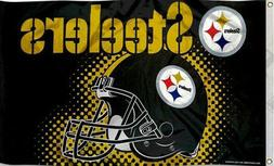 HIGH quality Pittsburgh Steelers Flag 3x5 ft New rico pittsb