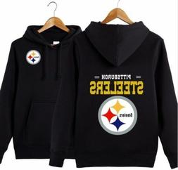HOT Pittsburgh Steelers Men's Majestic Critical Victory Hood