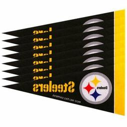 Rico Industries - Pittsburgh Steelers Mini Pennants - 8 Piec