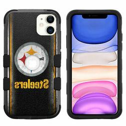 for iPhone 11  Hybrid Rugged Impact Armor Case Pittsburgh St