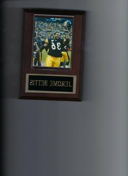 JEROME BETTIS PLAQUE PITTSBURGH STEELERS NFL FOOTBALL