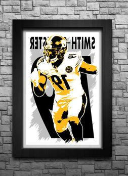 JUJU SMITH-SCHUSTER art print/poster PITTSBURGH STEELERS FRE