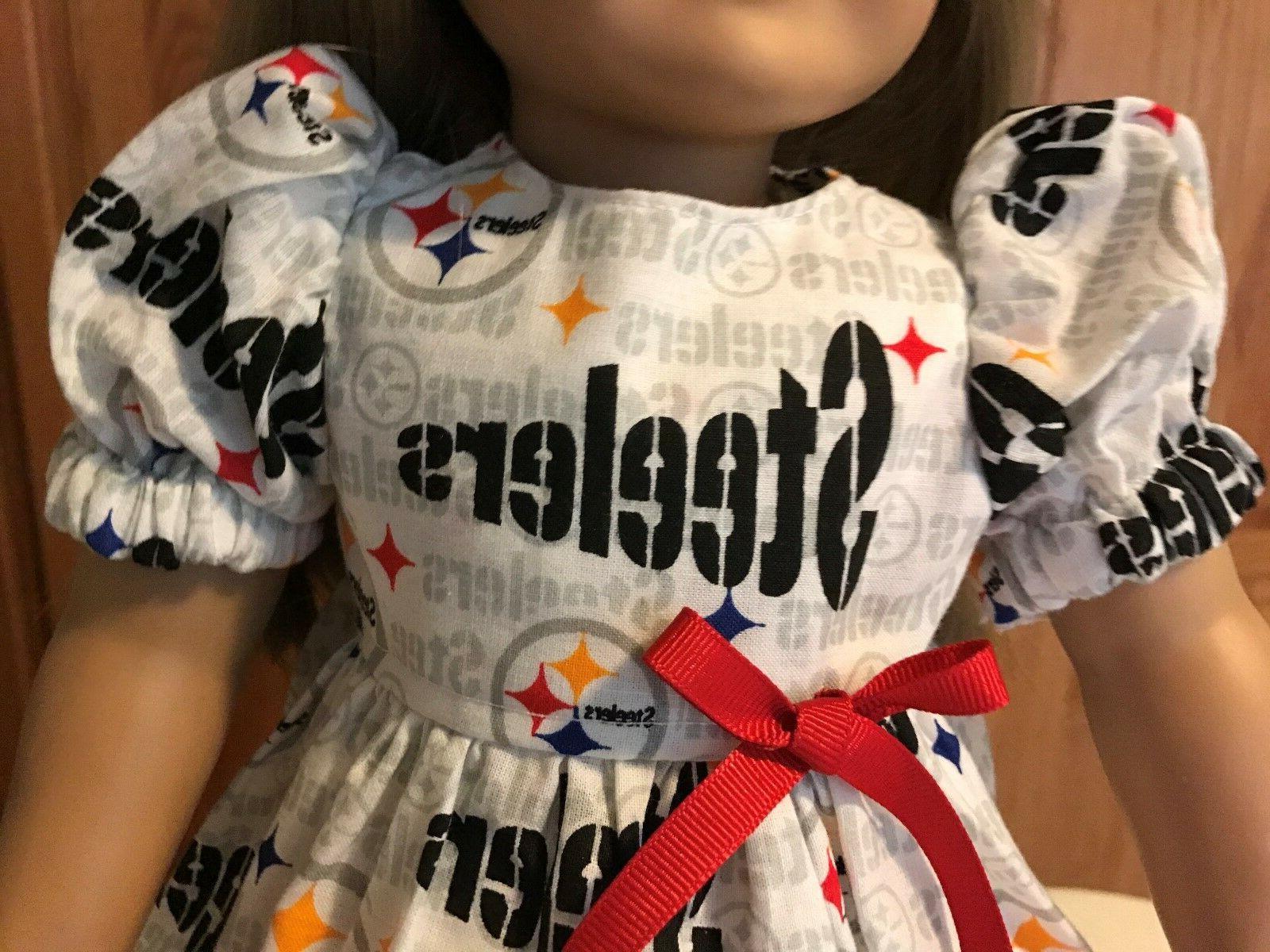 "18"" Doll Pittsburgh Steelers American"