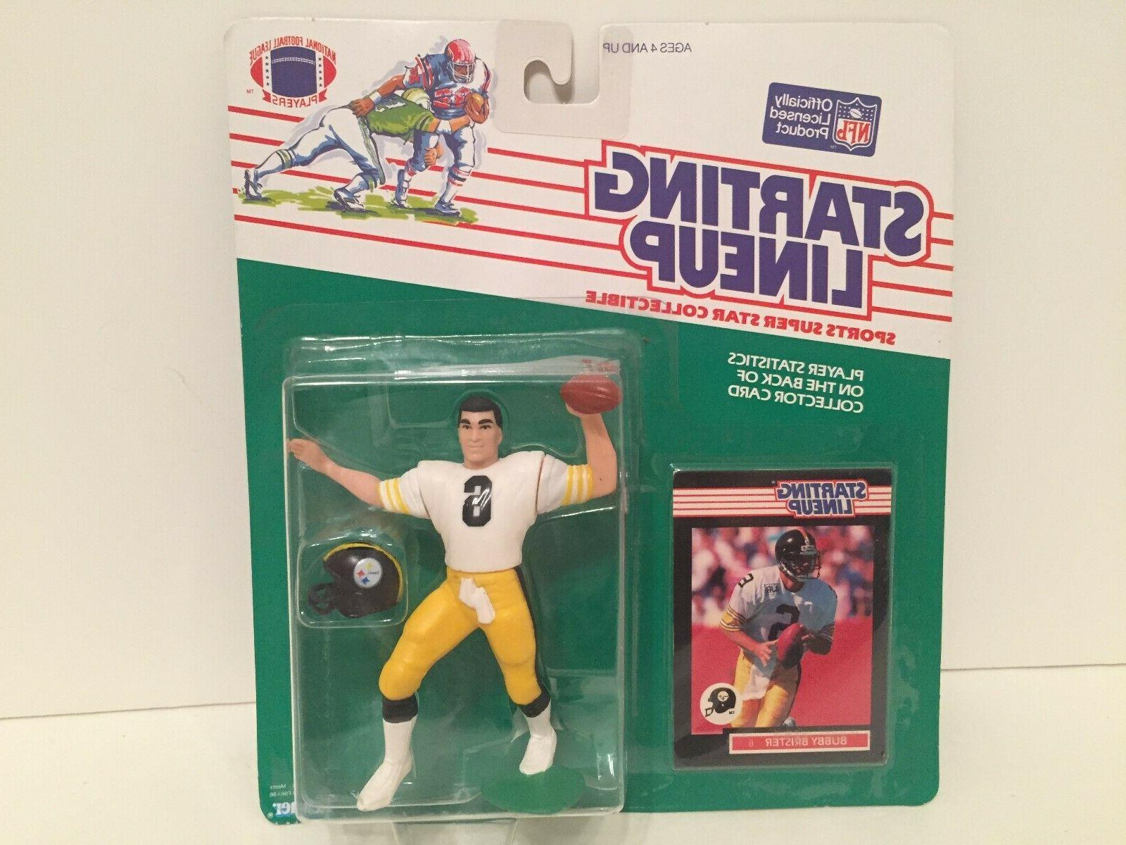 1989 starting lineup bubby brister figure card