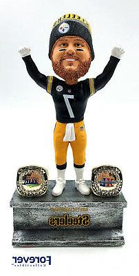 Ben Roethlisberger Pittsburgh Steelers 2X Championship Ring