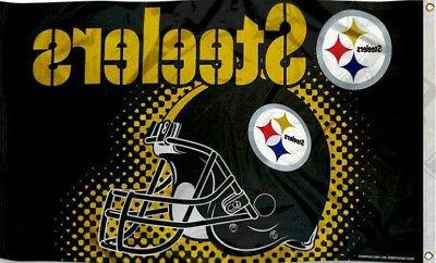 high quality pittsburgh steelers flag 3x5 ft