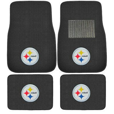 New 7pc NFL Pittsburgh Floor Cover