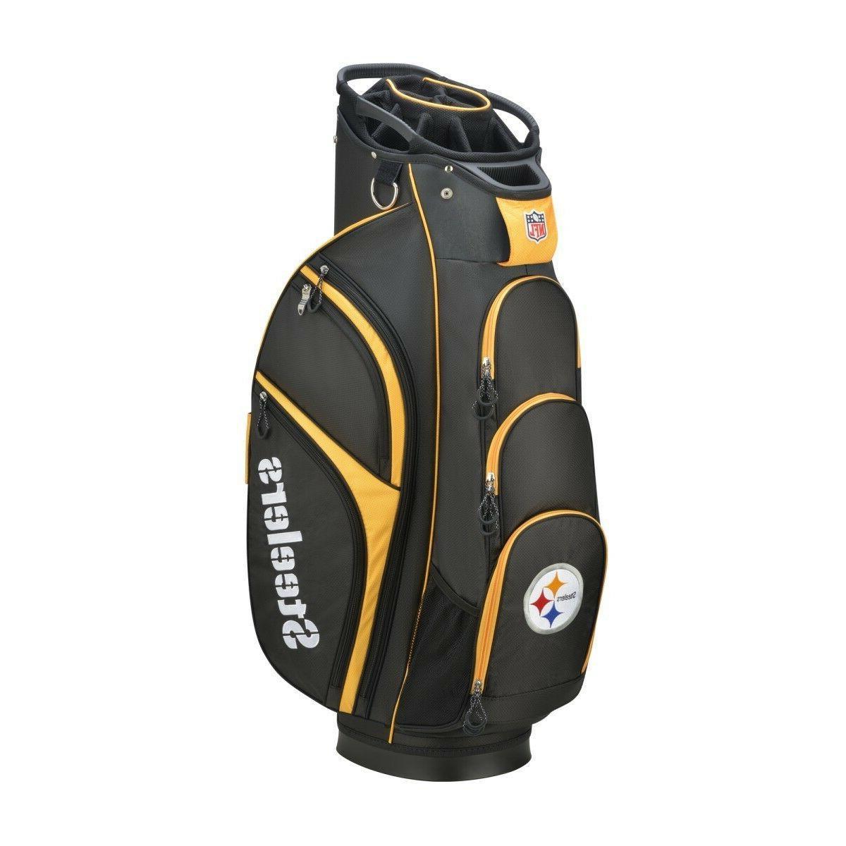 new nfl cart golf bag pittsburgh steelers