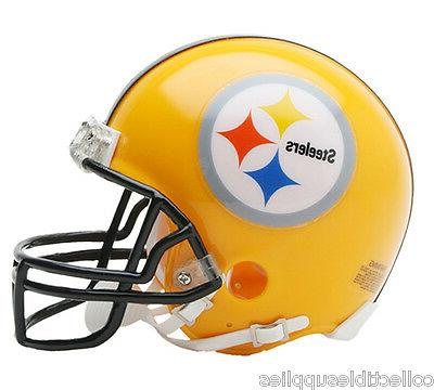 new pittsburgh steelers 75th anniversary mini helmet