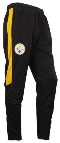 Zubaz NFL Football Men's Pittsburgh Steelers Athletic Track