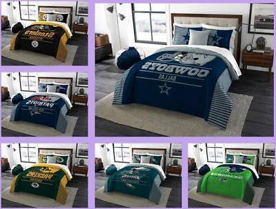 nfl licensed 3 piece king comforter