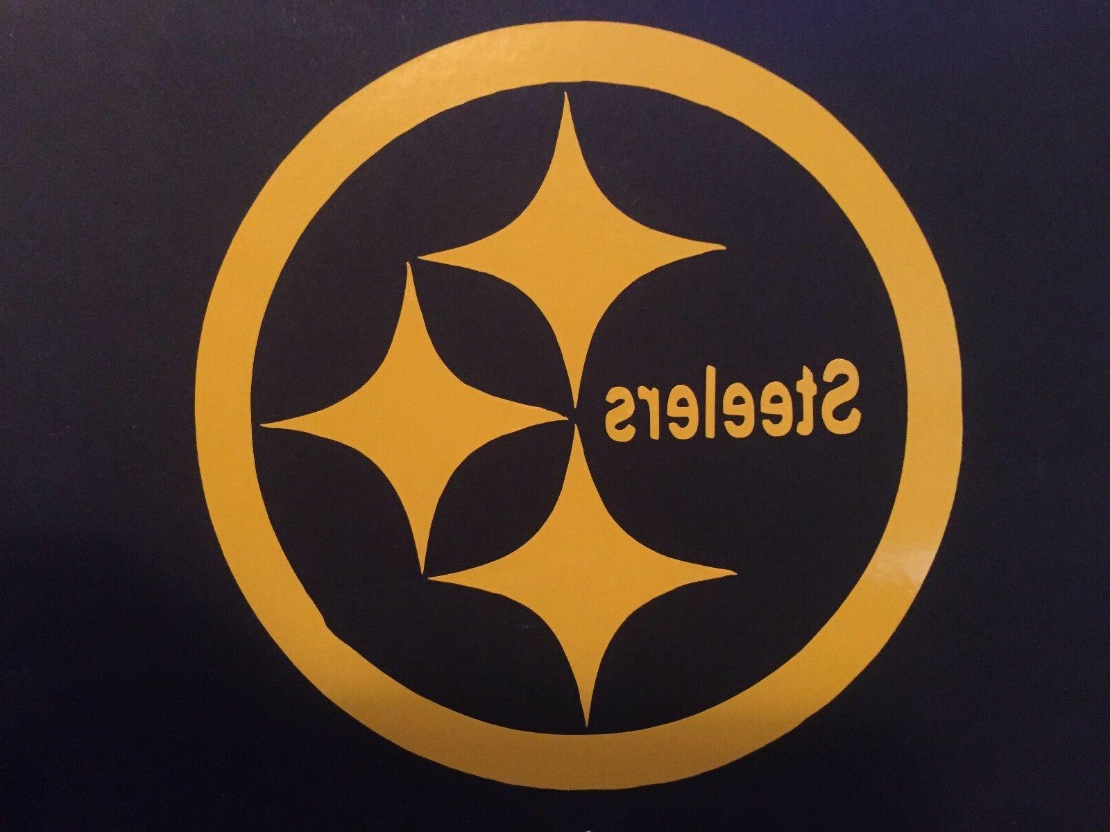 nfl pittsburgh steelers 3 x 3 vinyl