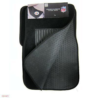 NFL Steelers Truck Carpet & Hanging Freshener Set