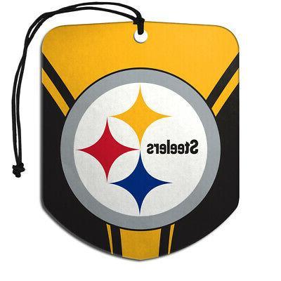 NFL Pittsburgh Steelers Car Truck Floor & Hanging Set