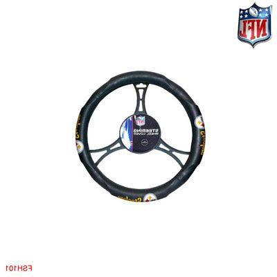 NFL Pittsburgh Car Truck Floor Mats Headrest Cover Steering Cover