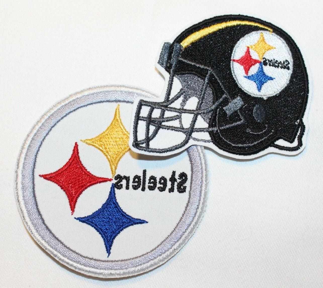 nfl pittsburgh steelers embroidered iron on patch