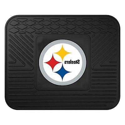 NFL Pittsburgh Mats Steering Wheel & Set