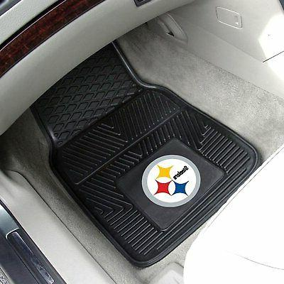 NFL Pittsburgh Truck Seat Covers Mats Steering Cover