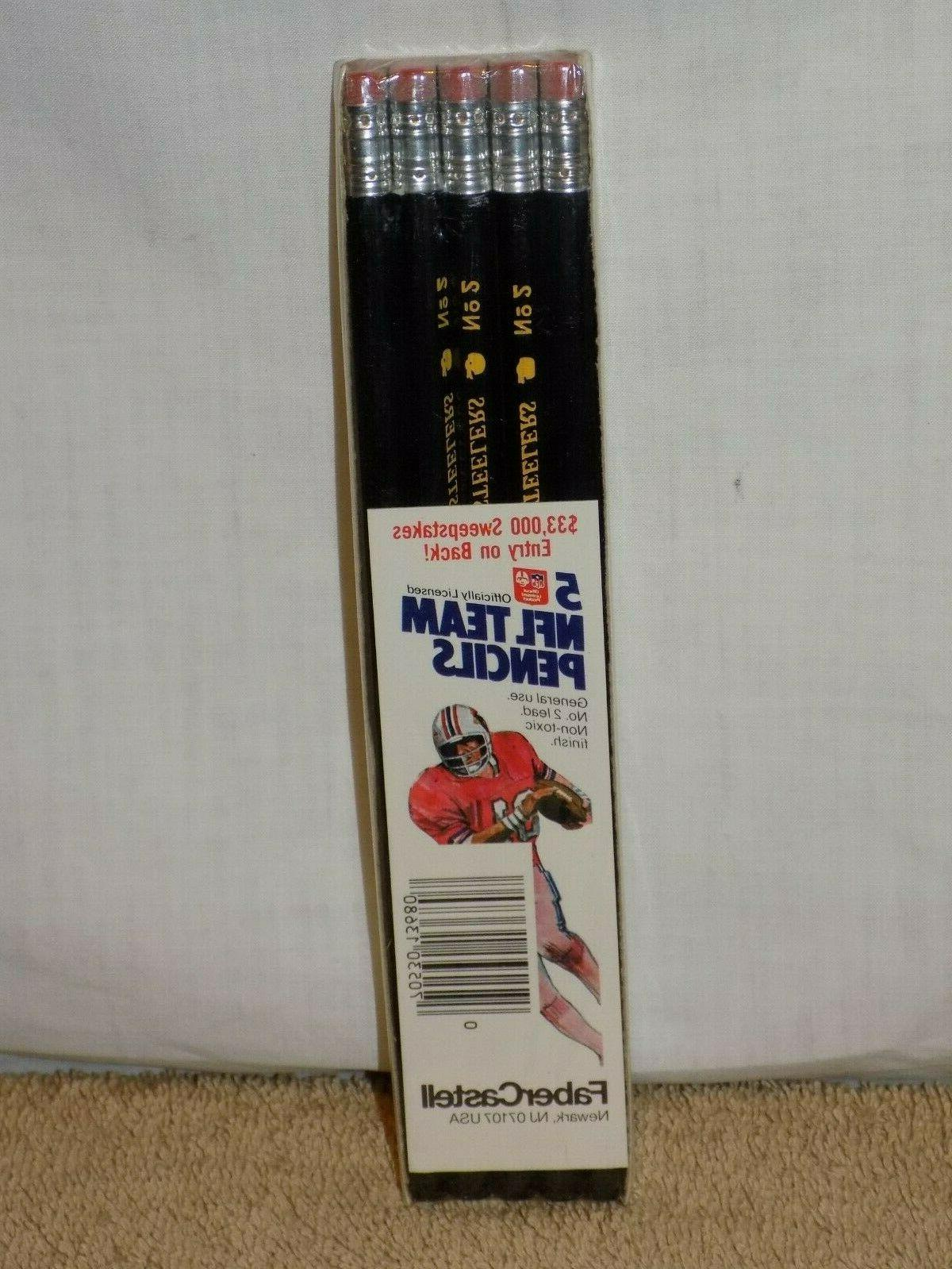pittsburg steelers nfl football faber castell 5