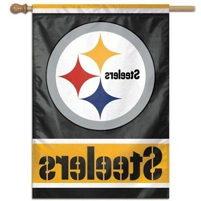 pittsburgh steelers 1 official nfl 28x40 outdoor